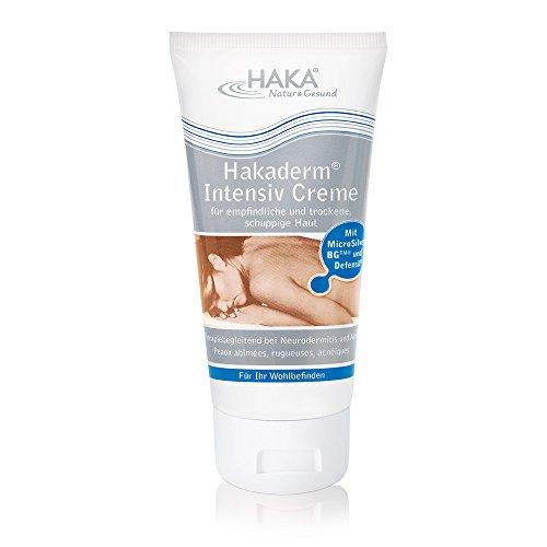 HAKA Hakaderm Intensiv Pflegecreme I 100 ml I Gesichtscreme für Problemhaut I Gesichtspflege bei Neurodermitis und Akne