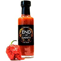 FIRELAND FOODS End of Sanity (Carolina Reaper) Hot-Sauce 200.000 SCU, 100ml