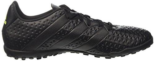 adidas Ace 16.4 Tf, Chaussures de Football Entrainement Homme Noir (Core Black/Core Black/Solar Yellow)