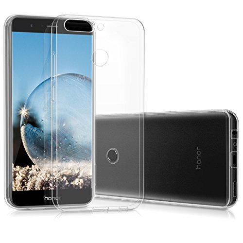 kwmobile Huawei Honor 8 Pro Hülle - Handyhülle für Huawei Honor 8 Pro - Handy Case in Transparent
