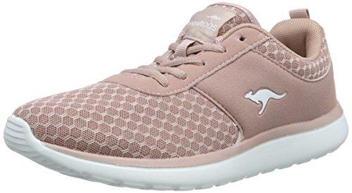 KangaROOS Damen Bumpy Sneakers,Pink(Rose 640),39 EU