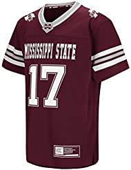 "Mississippi State Bulldogs NCAA ""Hail Mary Pass"" Youth Jeunes Football Jersey Maillot"