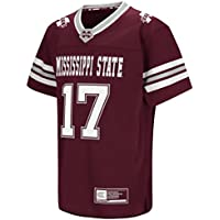 """Mississippi State Bulldogs NCAA """"Hail Mary Pass"""" Youth Kinder Football Jersey Trikot"""