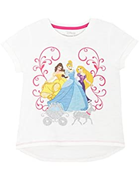 Disney - Maglietta a maniche corte per ragazze - Disney Principesse