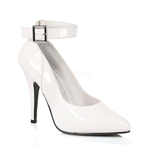 Heels-Perfect , Escarpins pour femme Blanc Blanc Blanc - Weiß (Lack Weiß)