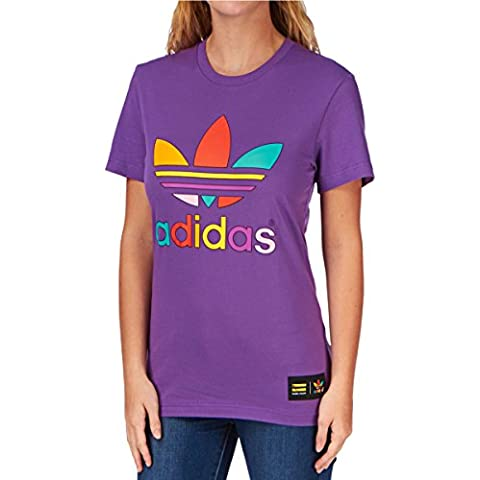 adidas originals Mono camiseta Color - Ray púrpura F13