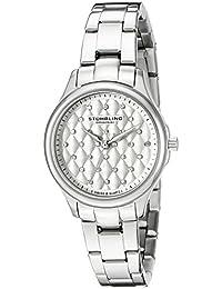 Stührling Original 783.01 - Reloj analógico para mujer, correa de acero inoxidable, color plateado