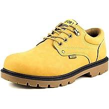 Minetom Zapatos Para Hombre Oxford Shoes Zapatos Con Cordones Botines Adventure Adulto Senderismo Trekking Botas Náuticos Zapatillas