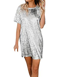 0285f268d65f Amazon.it  Argento - Vestiti   Donna  Abbigliamento