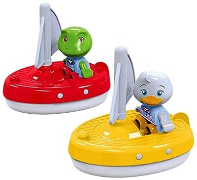 Aquaplay 8700000254 - 2 Segelboote mit Figuren von Aquaplay
