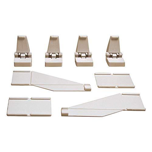 Carrera - rail et accessoire pour circuit - 20085220 - 1/24 et 1/32 Evolution Digital 132 et 124 - barrières 3m, 24 supports de barrières, 6 pièces de jonction, 12 pièces de terminales
