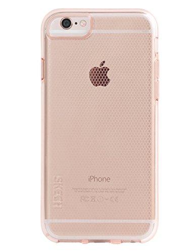 Skech SK26-HRD-PNK Hard-Rubber DUO Case für Apple iPhone 6 / 6S - 2-teilige, matte Schutzhülle mit edler Soft-Touch Beschichtung - pink transparent rose gold (MATRIX)