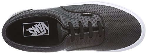 Vans U ERA Unisex-Erwachsene Sneakers Schwarz ((Perf Leather) black)