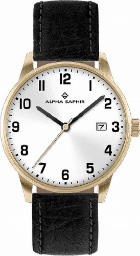 Alpha Saphir Damen-Uhren Quarz  Analog 314G
