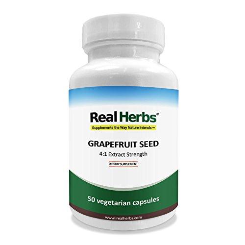 Real Herbs Extracto 4: 1 pomelo 700 mg - 50 cápsulas