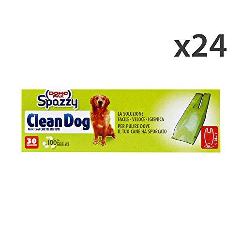 Juego 24Domopak Bolsas Clean Dog 30Piezas 209para Animales