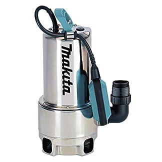 Makita-PF1110-elektrische-Tauchpumpe-Schmutzwasser-bis-35-mm-Partikelgre-Edelstahl-1100-W
