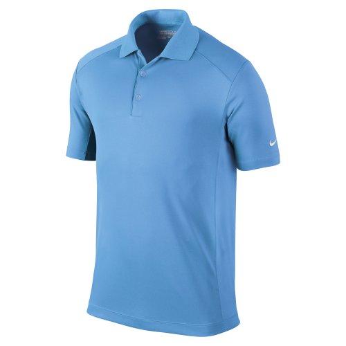 NIKE Herren Polohemd Victory Stripe Blau - Blau