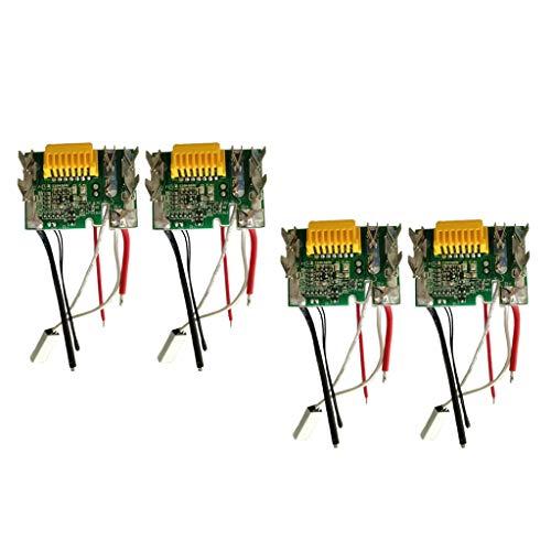 SM SunniMix Tablero Microprocesador Batería Litio para Makita Accesorio de Motosierra Motores de Patios Jardín