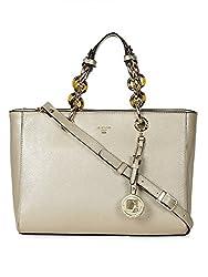 Da Milano LB-3808 Light Gold Leather Handheld Bag