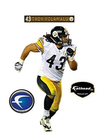 Pittsburgh Steelers Troy Polamalu Junior Wall Decal by FATHEAD
