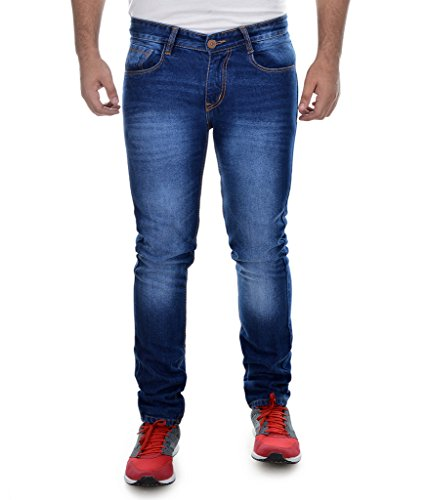 Ben Martin Men's Denim Jeans(ABMWJJ-3-DBNL32_Blue_32)