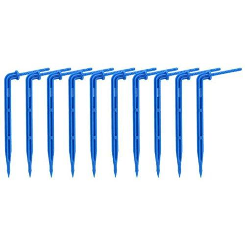 PENVEAT 10 pcs/lot 360 d'irrigation arrosage Vaporisateur Dripper Jardin Plantes d'arrosage Buse d'égouttement Kits de système d'irrigation d'arrosage arroseurs, Bleu