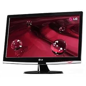 LG Electronics W2353V 58,4 cm (23 Zoll) Widescreen TFT Monitor schwarz DVI-D + VGA + HDMI (Kontrast dyn. 50000:1, 2ms Reaktionszeit)
