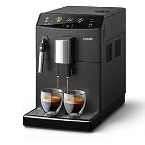 Philips HD8827/01, serie3000,macchina da caffè automatica, pannarello classico, nera senza set di manutenzione completo nero