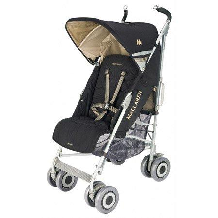 Maclaren WOX13062 - Silla de paseo (cubierta desmontable, cesta, burbuja de lluvia incluida, manillar ajustable)