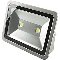 1 pcs 200W LED Proyector de alta potencia de luz de inundación impermeable del jardín al aire libre y cubierta impermeable luz de inundación de blanco frío