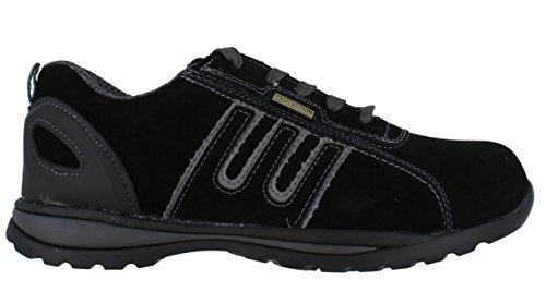 Groundwork GR86 S, Chaussures de sécurité mixte adulte Noir/Gris
