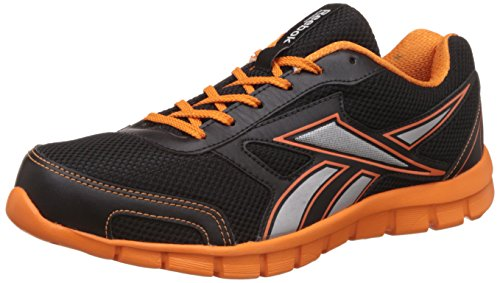 Reebok Men's Ree Scape Run Black, Nacho and Met Silver Running Shoes - 11 UK/India (45.5 EU)(12 US)