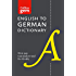 Collins English to German (One Way) Dictionary Gem Edition: A portable, up-to-date German dictionary (Collins Gem)