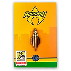 DC Comics Aquaman Trident Enamel Pin | Licensed Merch