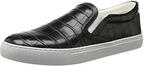 Sam Edelman Womens Pixie Fashion Sneaker Noir/croco