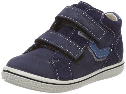 Ricosta Jungen Laif Hohe Sneaker, Blau (Nautic), 24 EU