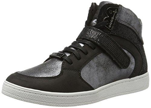 Tamaris 25201, Sneakers Hautes Femme Noir (Black Comb 098)