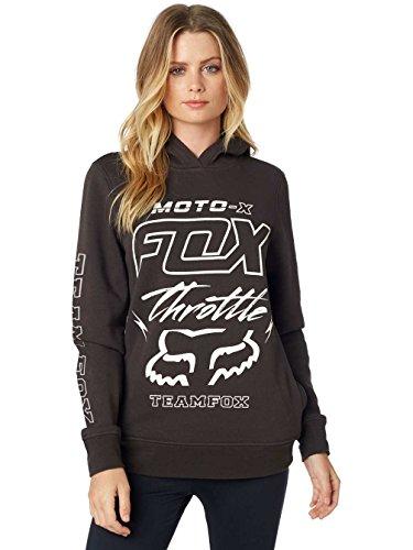 Fox -  Felpa con cappuccio  - Donna Nero