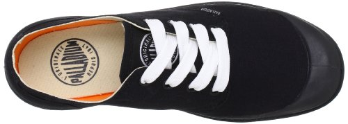 Palladium BLANC OX 72885-606-M, Chaussures basses mixte adulte Noir-TR-SW604