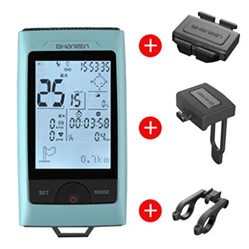 GOMOV GPS-Fahrrad-Computer-Entfernungsmesser Mit Wireless Speed