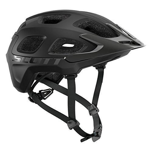 Scott Vivo MTB Fahrrad Helm schwarz matt 2018: Größe: M (55-59cm)