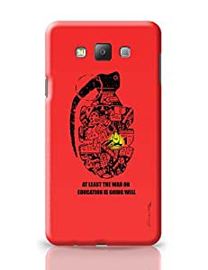 PosterGuy War On Education Graphic Design Illustration Samsung Galaxy A7 Covers