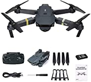 E58 Eachine JY019 Drone with Camera HD 2MP Live Video 720P Foldable Pocket RC WiFi mini Quadcopter By PRIME TE