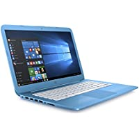 HP Stream 14-cb007na 14 Inch Laptop, (Aqua Blue) (Intel Celeron N3060, 4 GB RAM, 32 GB eMMC, Office 365 and 1 TB OneDrive Cloud Storage, 1 Year Subscription Included , Windows 10 Home)
