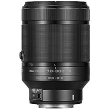 Nikon 1 Nikkor VR - Objetivo para Nikon (distancia focal 70-300mm, apertura f/4.5-16, estabilizador), negro