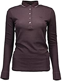 FRED PERRY 31102172 POLO MANICHE LUNGHE Mujer