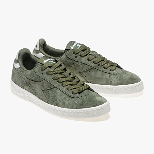 Diadora Game Low S, Sneaker Bas du Cou Mixte Adulte vert militaire