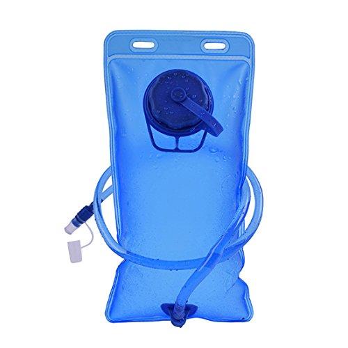 Tiger Fighting 2L tragbare Trinkblase Outdoor Sports Wasserbehälter für Reisen Radfahren Camping Wandern