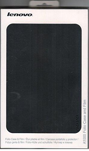 "Lenovo A1000 Tablet Folio Case & Film Protector 7"" (Black)"